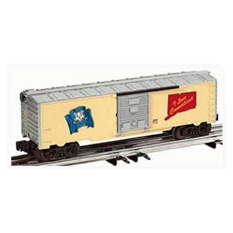LIONEL 29906 I LOVE CONNECTICUT BOXCAR