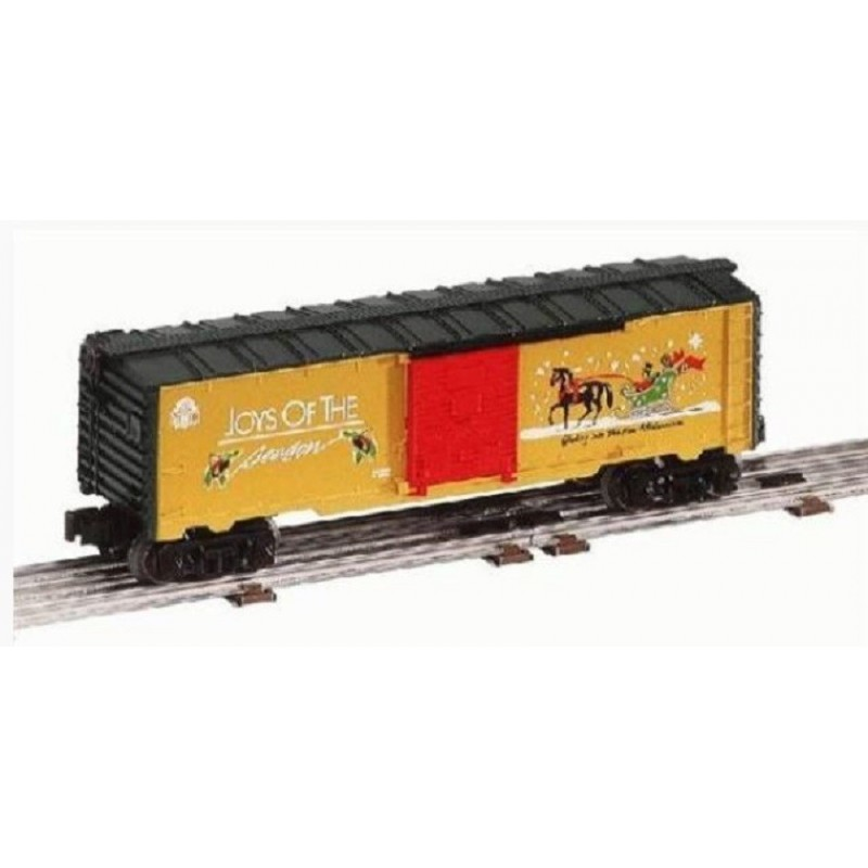 LIONEL 26718 HOLIDAY CHRISTMAS RAILSOUNDS BOXCAR