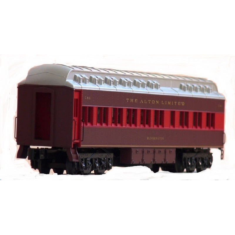 LIONEL 15504 ALTON LIMITED DINER STATIONSOUNDS CAR