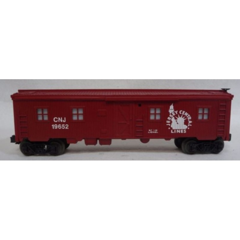 LIONEL 19652 JERSEY CENTRAL BUNK CAR