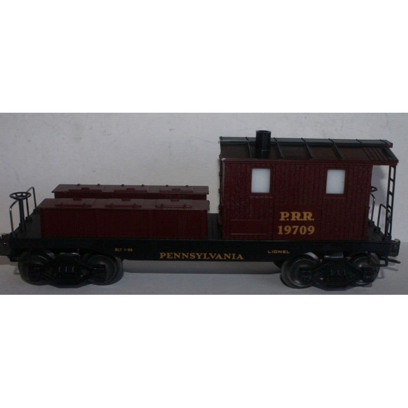 LIONEL 19709 PENNSYLVANIA RAILROAD WORK CABOOSE