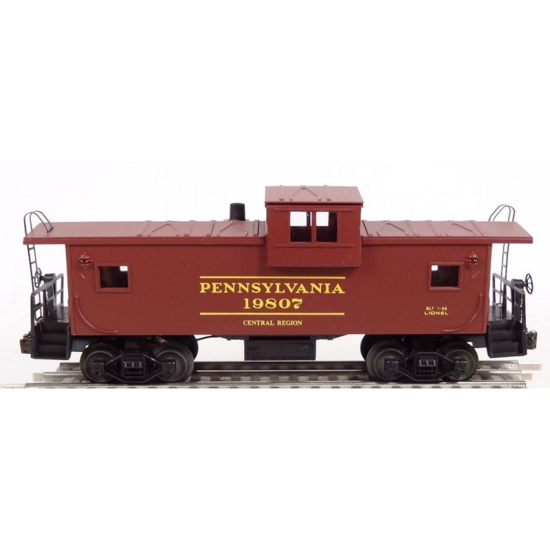 LIONEL 19807 PENNSYLVANIA EXTENDED VISION CABOOSE