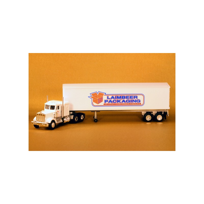 LIONEL 12932 LAIMBEER PACKAGING TRACTOR TRAILER TRUCK