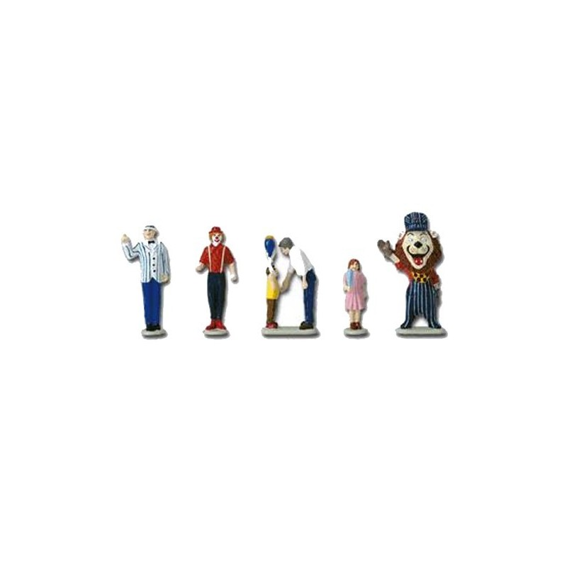 LIONEL 24124 LIONELVILLE CARNIVAL PEOPLE PACK