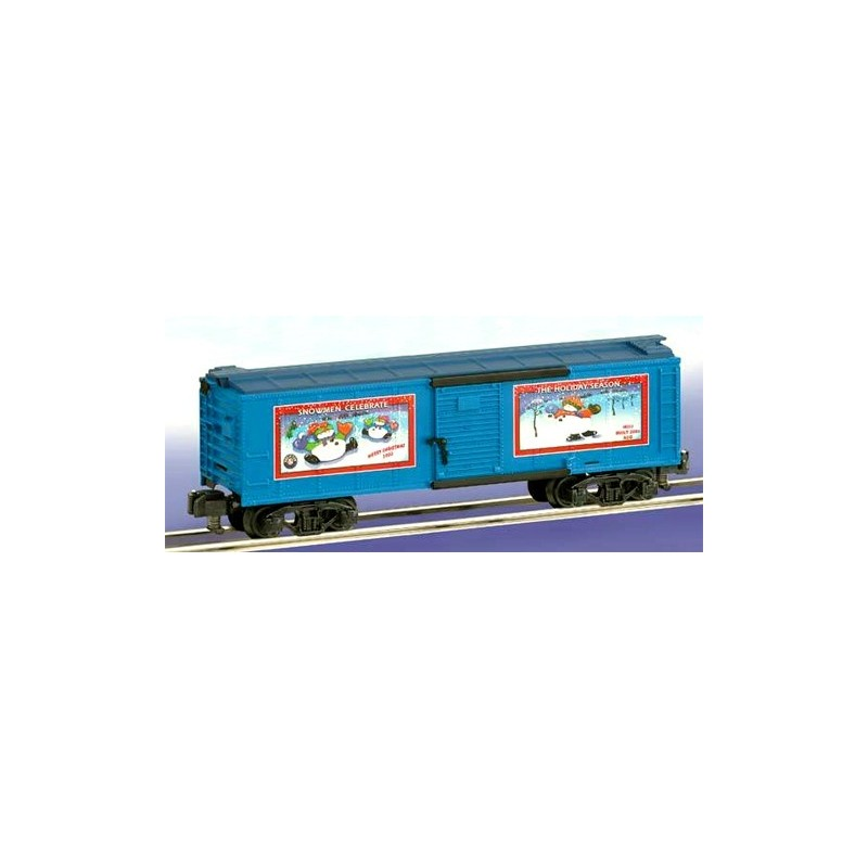 AMERICAN FLYER 48353 2003 CHRISTMAS BOXCAR