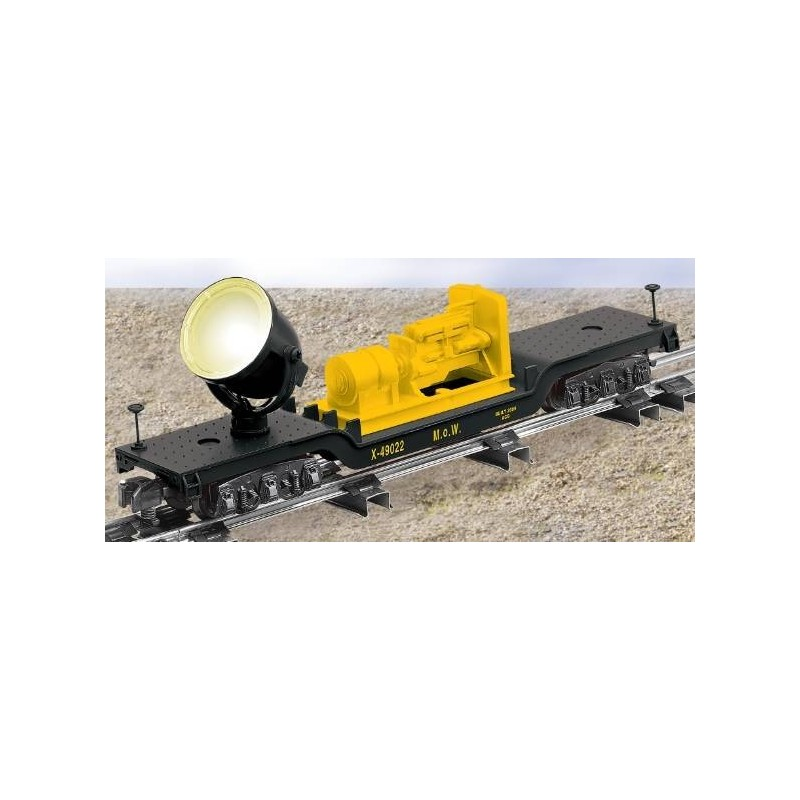 AMERICAN FLYER 49022 MAINTENANCE OF WAY SEARCHLIGHT CAR