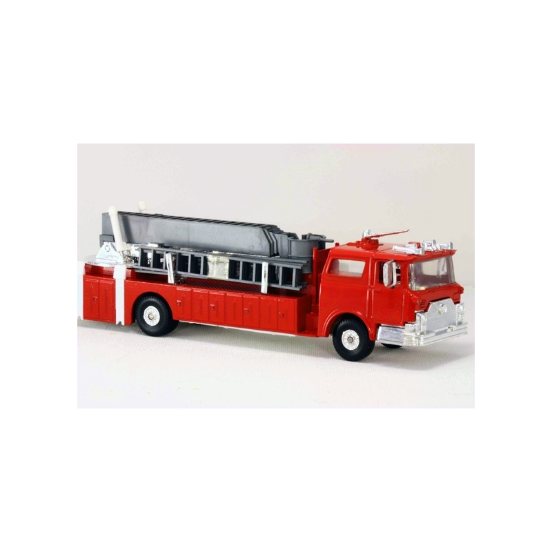 MODEL POWER  MP-8968-1 FIRE FIGHTERS FIRE ENGINE MOUNTED SNORKEL AND AERIAL SNORKEL TRUCK