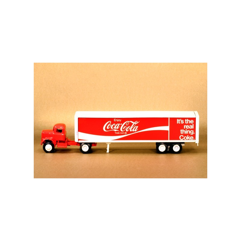 WINROSS COCA-COLA TRACTOR AND TRAILER TRUCK