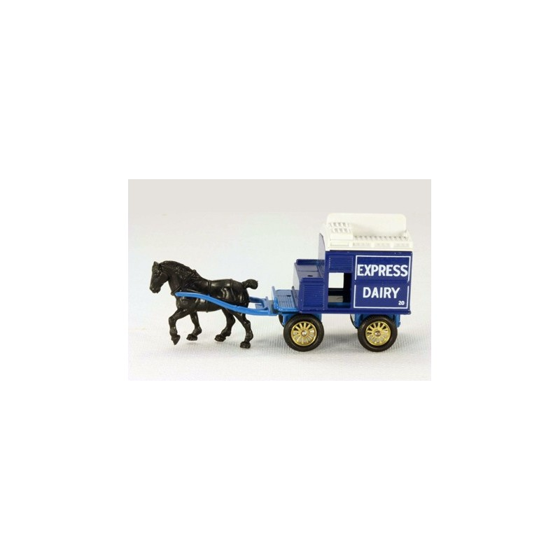 Lledo Days Gone DG020 Horse Drawn Express Dairy Brighton Milk Wagon