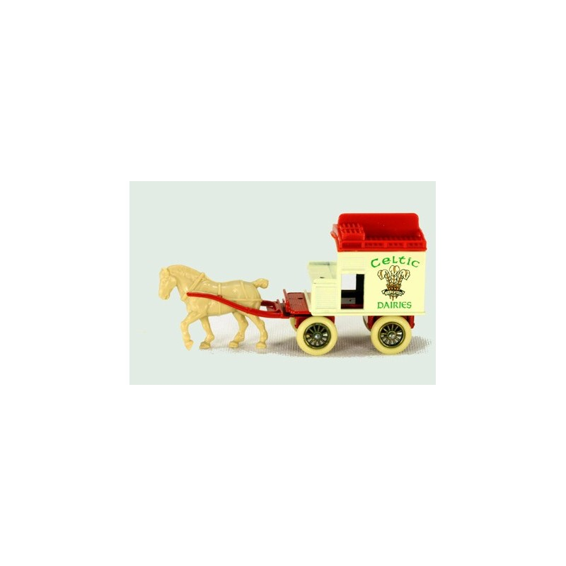 Lledo Days Gone DG024 Horse Drawn Celtic Dairies Milk Wagon