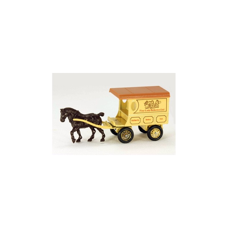 Lledo Days Gone DG032 Horse Drawn Fine Lady Bakery Wagon