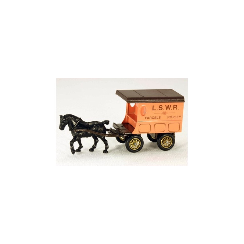 Lledo Days Gone DG038 Horse Drawn L.S.W.R. Delivery Wagon