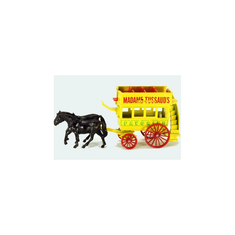 Lledo Days Gone DG046 Horse Drawn Double Deck Coach Madame Tussauds