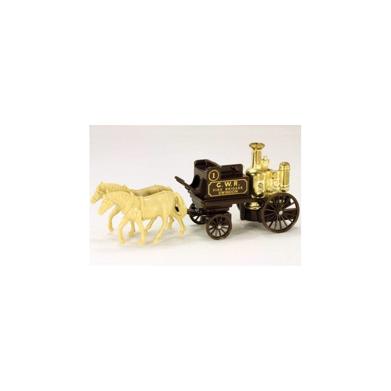 Lledo Days Gone DG054 1858 Horse Drawn Great Western Rail Fire Pumper
