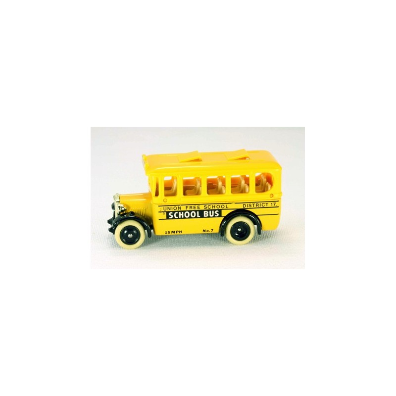 "Lledo Days Gone DG104 1935 Model ""A"" Ford Bus U.S. School Bus"