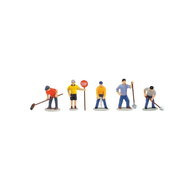 LIONEL 14241 LIONELVILLE WORK CREW PEOPLE PACK