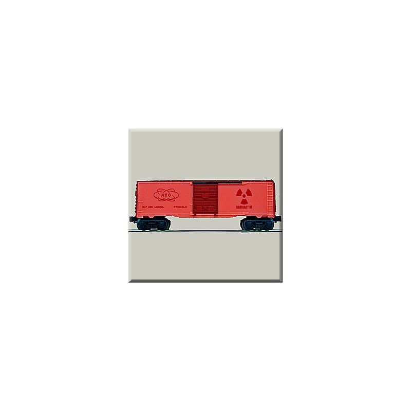 LIONEL 26288 AEC GLOW IN THE DARK BOXCAR