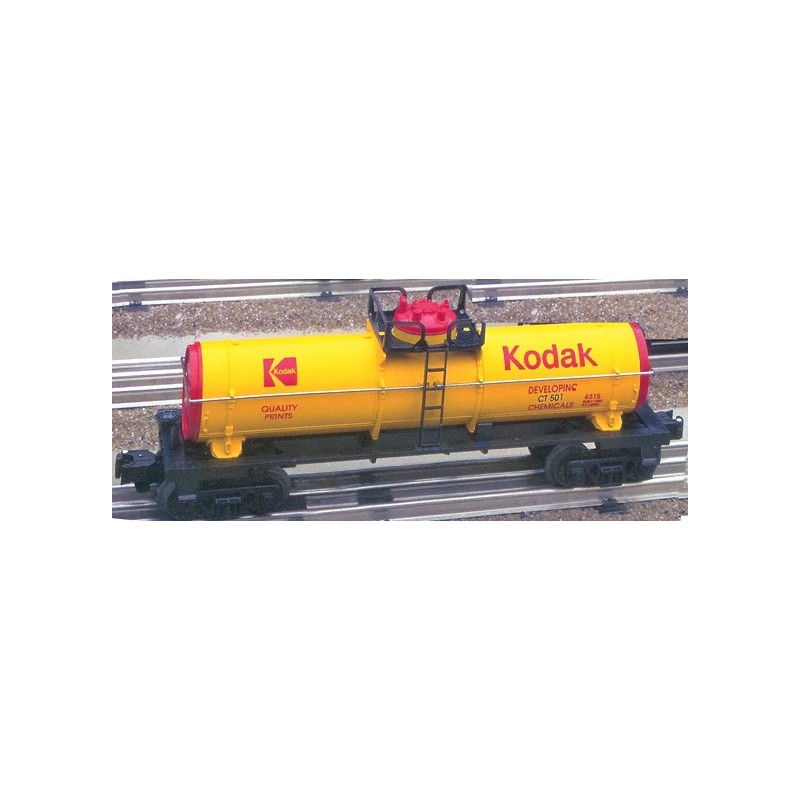 LIONEL 16188 KODAK SINGLE DOME TANK CAR