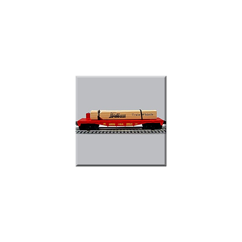 LIONEL 36087 TRAIN WHISTLE WITH FLATCAR