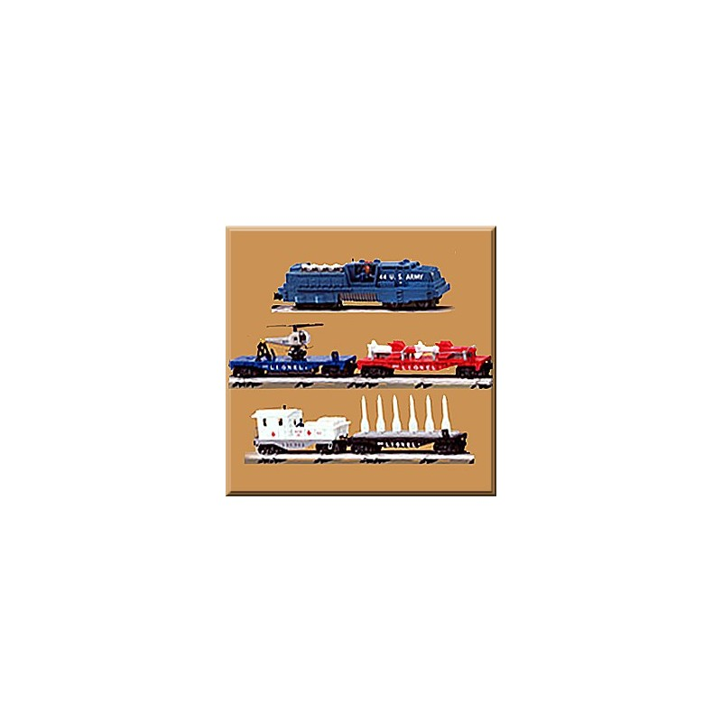 LIONEL 21788 MISSILE LAUNCH TRAIN SET