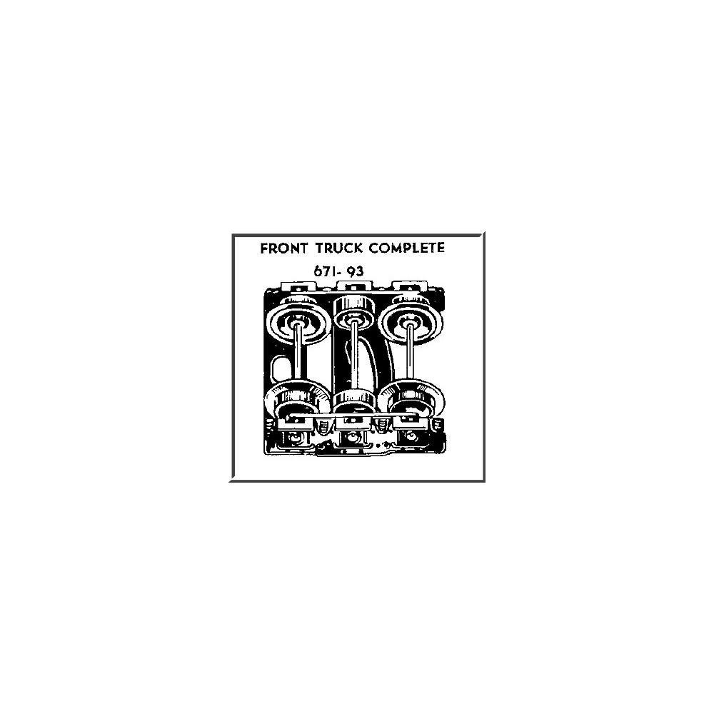 671 Lionel Train Wiring Diagram Libraries Postwar Diagrams Library671