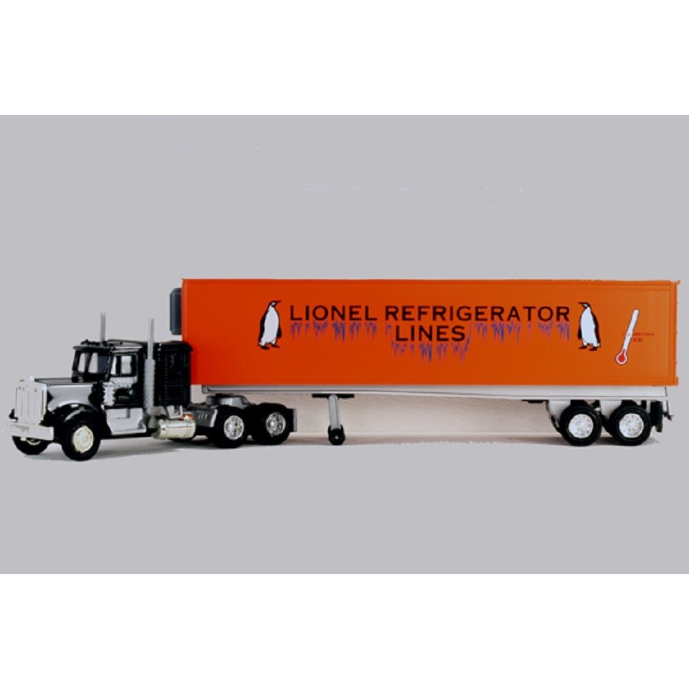 7fae6edf272 LIONEL 12891 LIONEL LINES REFRIGERATOR TRACTOR-TRAILER TRUCK - Toy Train  Factory Outlet