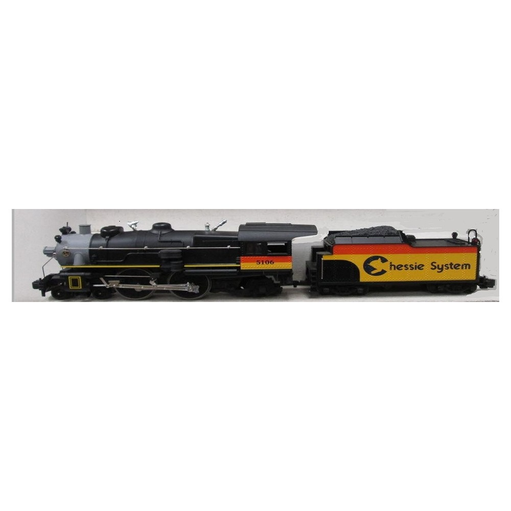 lionel 85106 4-4-2 chessie system atlantic steam locomotive and tender
